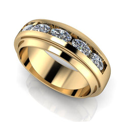 Men's Channel Set Wedding Band 1.30 ctw-BVD