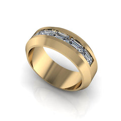 Men's Channel Set Wedding Band 1.35 ctw-BVD