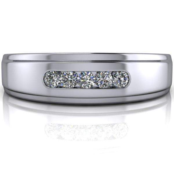 Men's Diamond Wedding Band .15 CTW-BVD