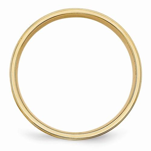 Men's Wedding Band 14k Gold Standard Comfort Fit Band-Bel Viaggio Designs