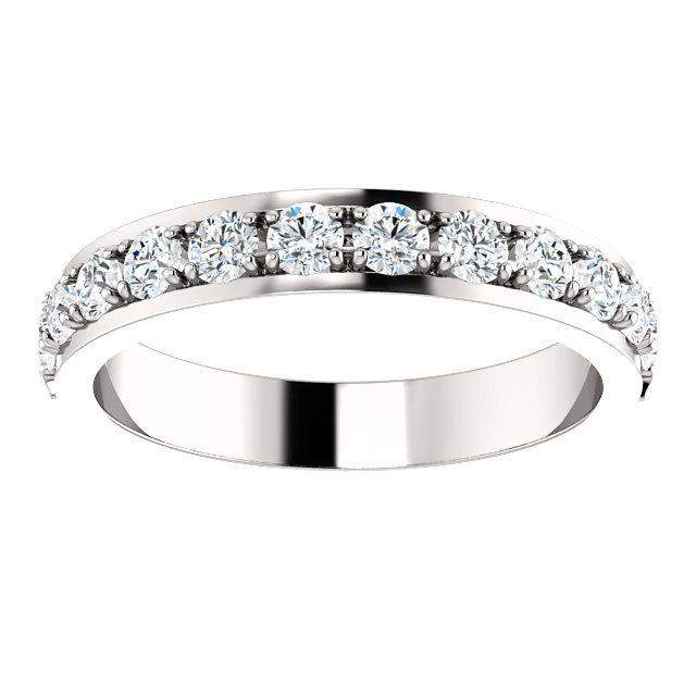Partial Eternity 3/4 CTW Diamond Anniversary Band-BVD