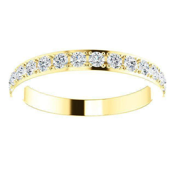 Lab Grown Diamond Anniversary Band .38 ctw-Bel Viaggio Designs