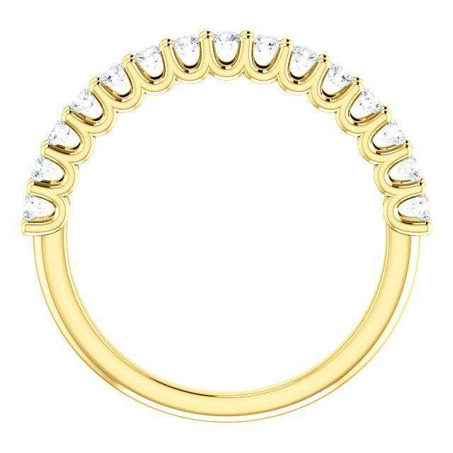 Shared Prong 1/2 CTW Diamond Anniversary Band-BVD