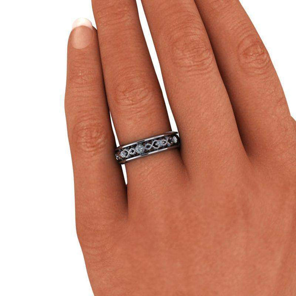 Women's Decorative Diamond Wedding Band .30 CTW-Bel Viaggio Designs