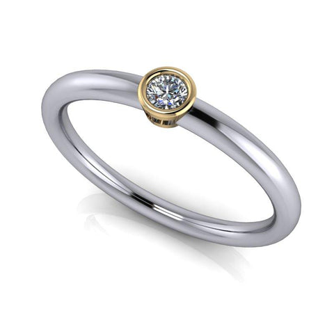 Women's Wedding Band Stacking Ring, .06 CTW Insieme Bridal Stackables®-BVD
