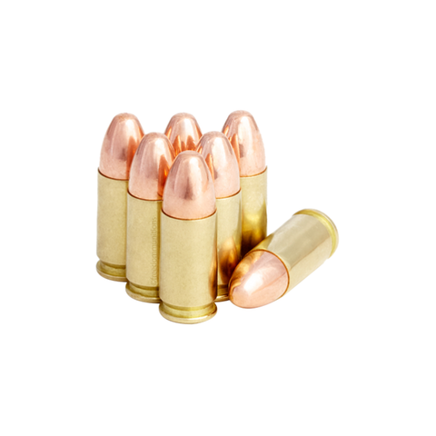 Areios Defense 9mm - 124gr - FMJ Ammunition