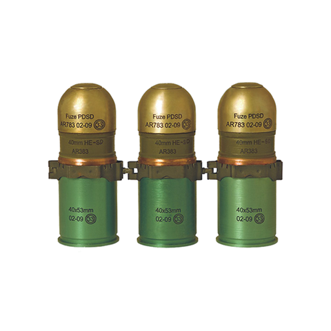 AR 383 40x53mm High Explosive Fragmentation Grenade with Self-Destruction