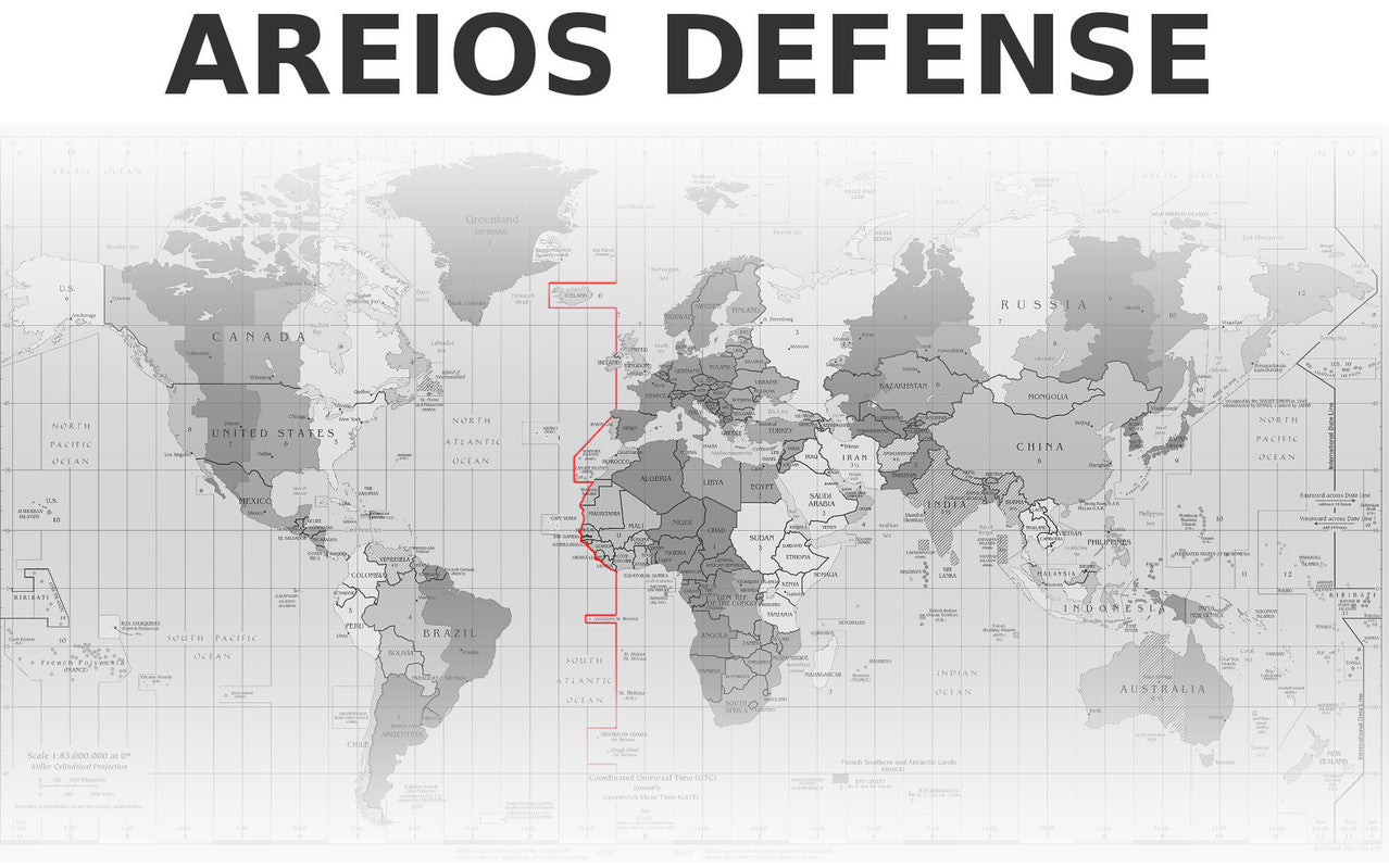 Areios Defense Global Client Map