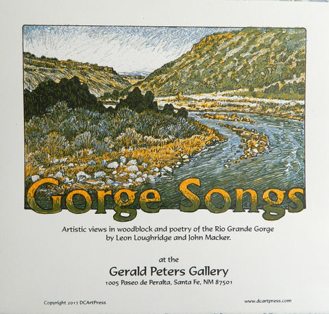 Gorge Songs Folio Seven Poster
