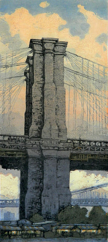 """Morning Walk, Brooklyn Bridge"""