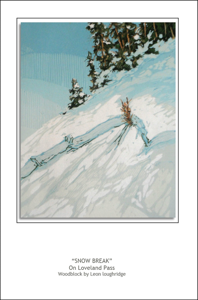 """Snow Break"" Notecard"