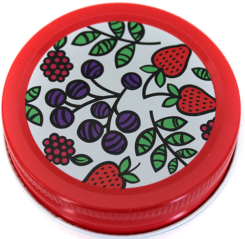 Orchard Road Fruit Decorative Canning Cap - Regular Mouth