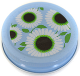 Orchard Road Wild Daisy Decorative Canning Cap - Regular Mouth