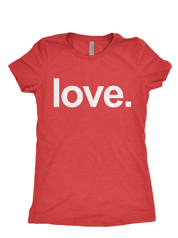 LOVE | Womens Cut Tee