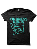 Black Kindness Ninja T-Shirt