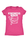 Pink Female Ninja T-Shirt