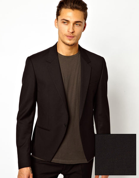 Slim Fit Suit Jacket With Fishtail