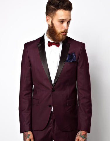 Tuxedo Jacket With Shawl Collar