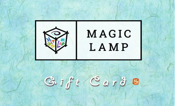 Gift Card Rotating Kids Bedside Table Lamp by Magic Lamp
