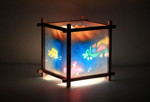 Cars Trucks kids rotating lamp