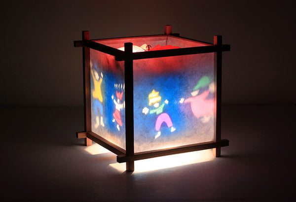 Dance rotating kids lamp