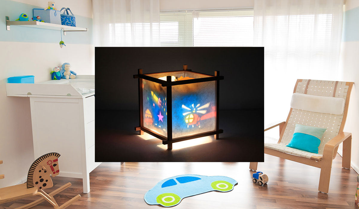 Lamps For Kids Bedrooms Magic Lamp Rotating Kids Lamps For Nursery Bedroom Or Playroom