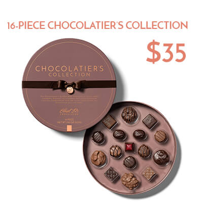 16-piece chocolatier's collection