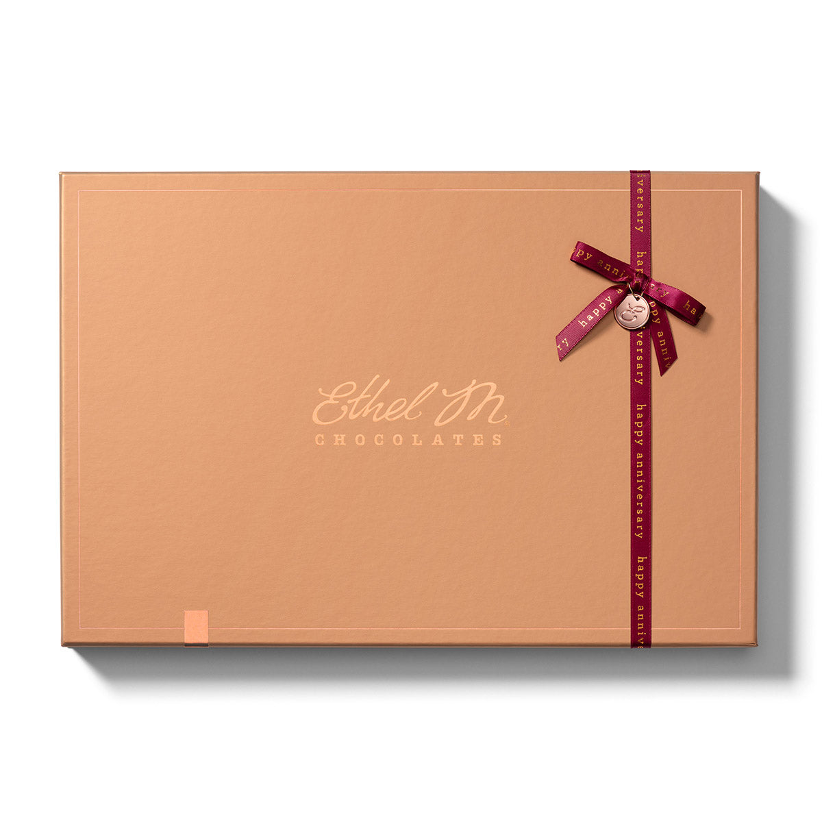 Design your own Chocolate Box with Anniversary Ribbon