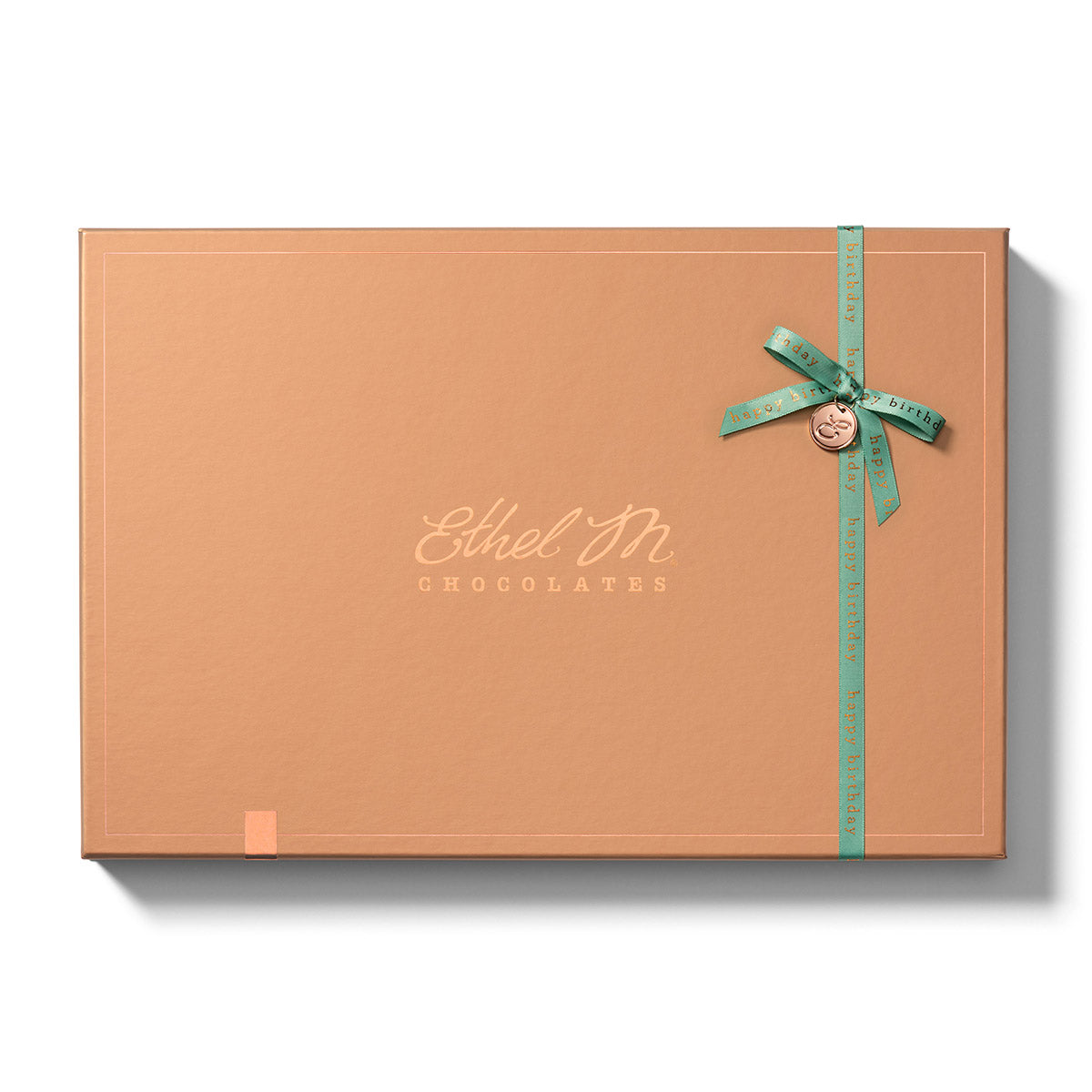 Design your own Chocolate Box with Happy Birthday ribbon