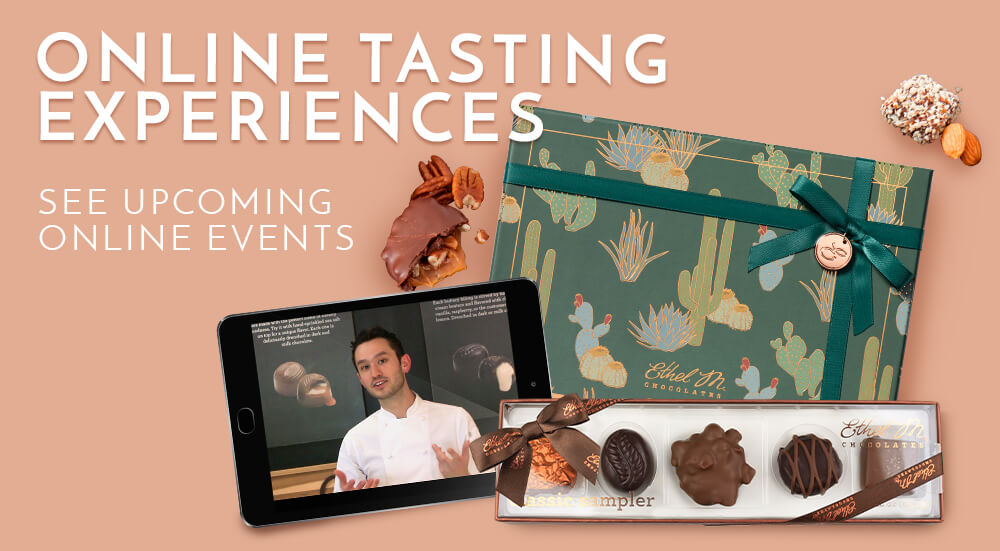 Virtual Chocolate Bundle with Tablet Online Tasting Experience