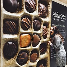 Ethel M Store Chocolate Wall