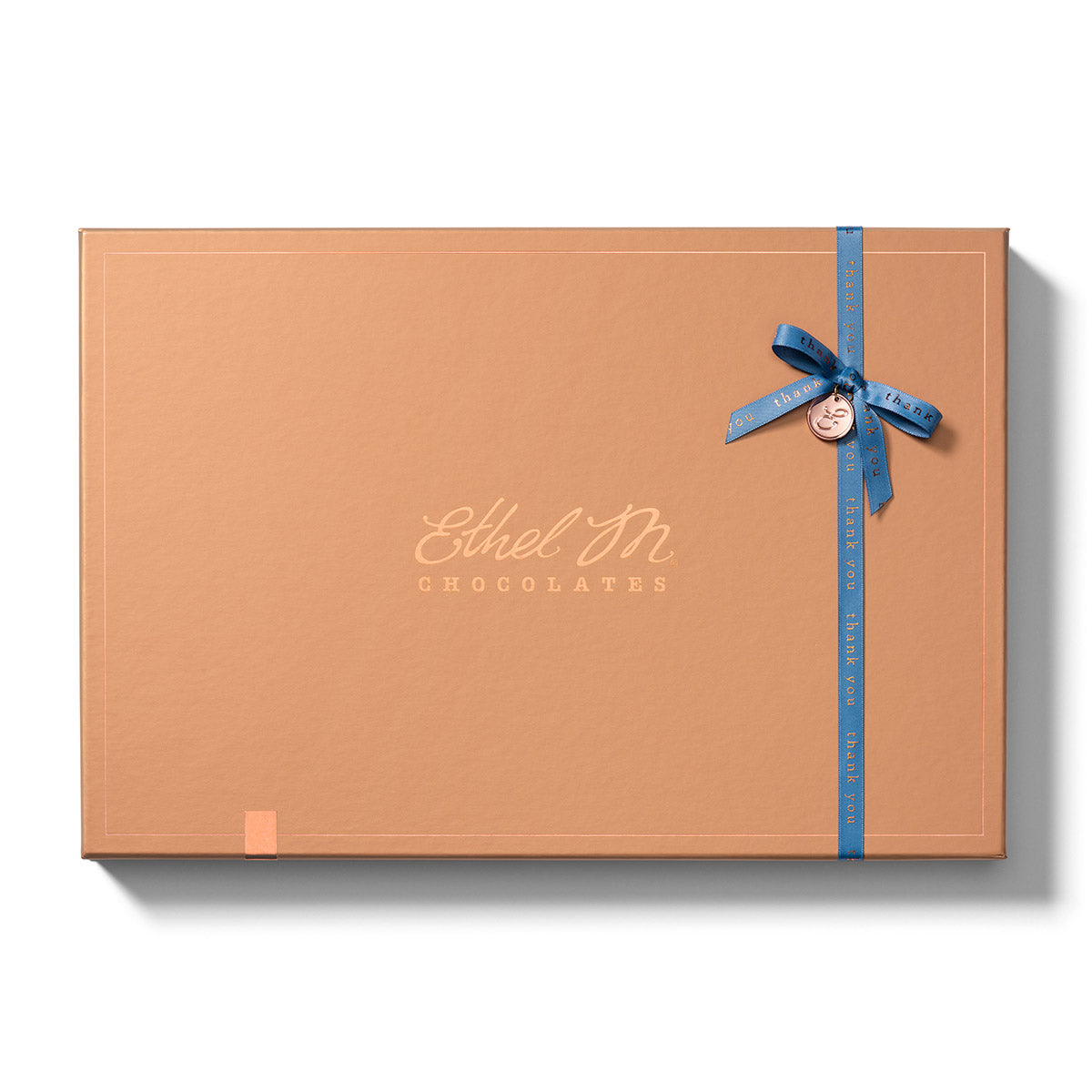 Design your own Chocolate Box with Thank You Ribbon