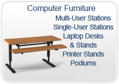 Computer Tables - Computer Furniture for Multiple User