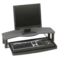 Monitor Stand with Keyboard integration