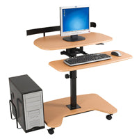 available for a harmonious workplace - height adjustable workstations