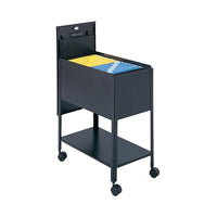 Lockable Mobile File Carts