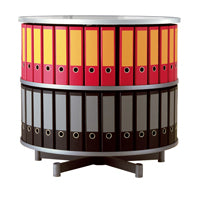 Binder Storage Carousel