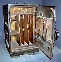Safe, circa 1841, National Museum of American History.
