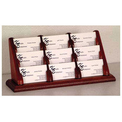Business Card Holders and Business Card Displays