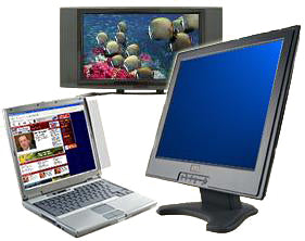 Cleaning an LCD monitor or Laptop Screen