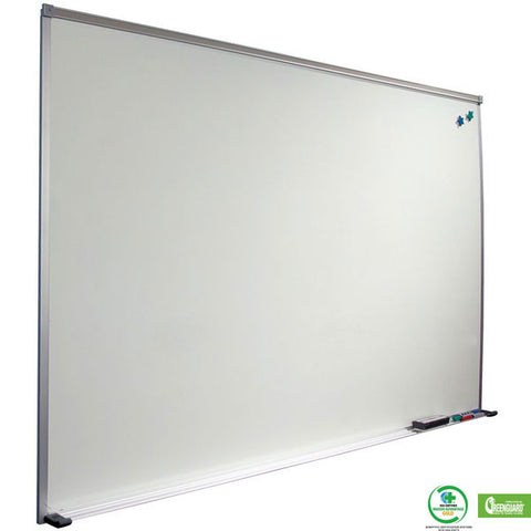 Porcelain & Steel Dry Erase Board with Deluxe Aluminum Trim - Small Sizes