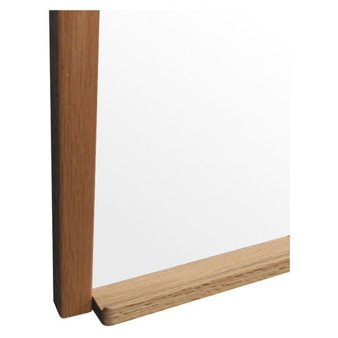 Porcelain and Steel Dry Erase Board with Solid Wood Trim - Small Sizes