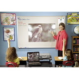 El Grande 5' High Porcelain & Steel Dry Erase Projection Board