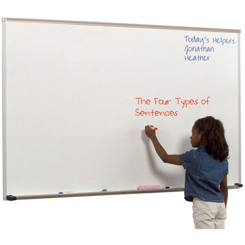 Dura-Rite Dry Erase Board with Aluminum Trim - Small Sizes