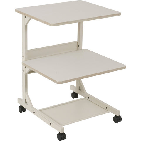 Three Shelf Mobile Machine Stand