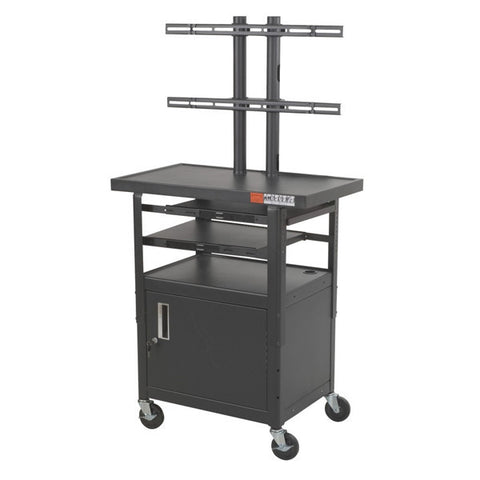 "Height Adjustable TV Cart for  32"" Screens"