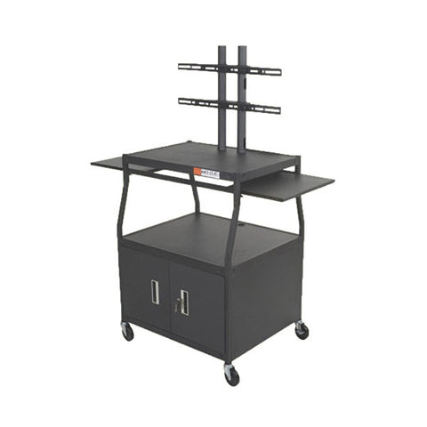 "Wide Body TV Cart for 42"" Screens"
