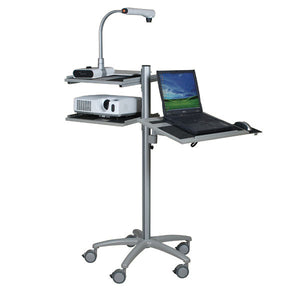 Alpha Mobile Laptop Cart with Projector Tray