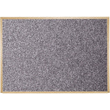 Recycled Rubber Bulletin Board with Wood Trim - Small Sizes
