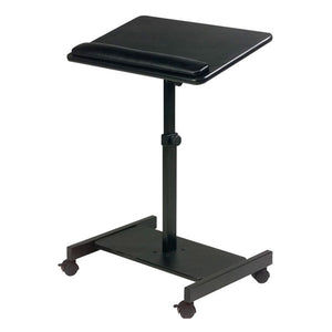 Height-Adjustable Mobile Presentation / Laptop Stand